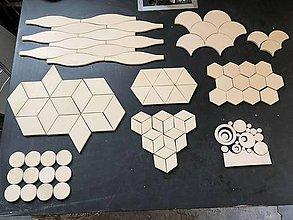Dekorácie - Handmade dizajnové obkladačky - 50x50cm - 9451205_