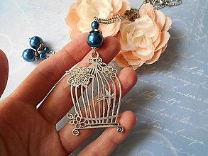 Sady šperkov - Vtáčia klietka - 9452532_