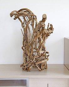 Socha - Brečtanová dekoračná skulptúra - 9453612_