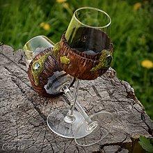 Nádoby - Zamilované III. - sada svadobných pohárov - 9453496_