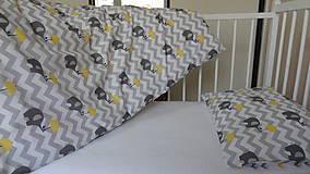 Textil - Posteľné obliečky do postieľky.Obojstranné. - 9451261_