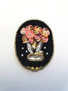 Odznaky/Brošne - Vintage brošňa - 9451996_