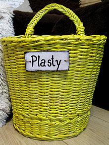 Košíky - RECY-KOŠÍK plast - 9452354_