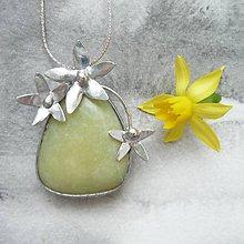 Náhrdelníky - Narcis - 9454815_