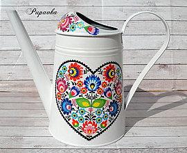 Nádoby - Krhlička folková - 9451416_