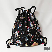 Detské tašky - Zaťahovací detský batoh rybár - 9451942_