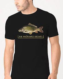 Oblečenie - Tričko pre rybára- Na veľkosti záleží - 9454537_