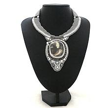 Náhrdelníky - Grey Bride - 9451441_