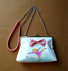 Detské tašky - krasokorčuliarka... - 9452394_