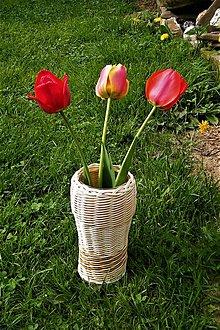 Dekorácie - Váza z pedigu - 9453074_