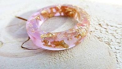Prstene - Živicový prsteň - 9458731_