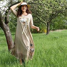 Šaty - Šaty na prechádzku nielen Parížom...ZĽAVA! - 9455340_