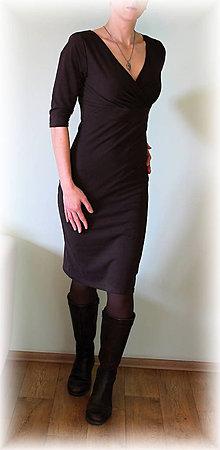 Šaty - Šaty vz.146(více barev) (Hnedá) - 9458463_
