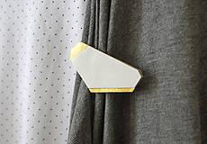 Odznaky/Brošne - Geometrická brošňa - 9457571_