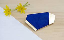 Odznaky/Brošne - Geometrická brošňa - 9457625_