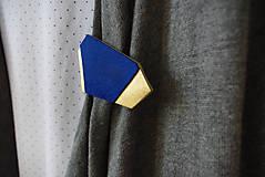 Odznaky/Brošne - Geometrická brošňa - 9457631_