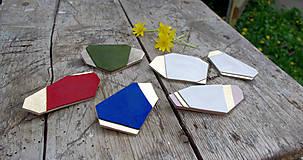Odznaky/Brošne - Geometrická brošňa - 9457643_
