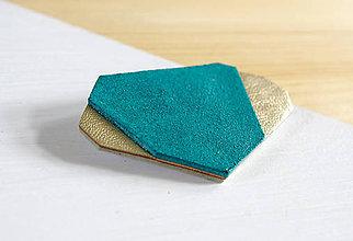 Odznaky/Brošne - Geometrická brošňa - 9457699_