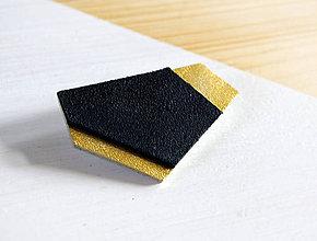 Odznaky/Brošne - Geometrická brošňa - 9457816_