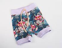 Detské oblečenie - Letné krátke nohavice - 9457207_