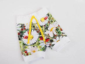 Detské oblečenie - Letné krátke nohavice - 9457105_