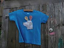 Psíček - reflexné a pískacie detské tričko