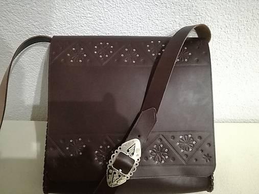 db5773b3f Kožená kapsa 5 / kozenyopasok - SAShE.sk - Handmade Veľké tašky