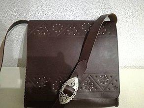 Veľké tašky - Kožená kapsa 5 - 9458699_