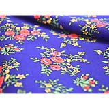 Sukne - MARÍNA - kruhová kvetinová sukňa - 9456715_