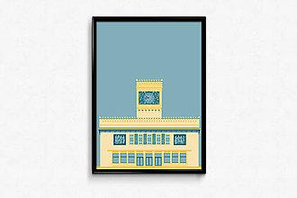 Grafika - Autorská grafika Mladá garda - 9456463_