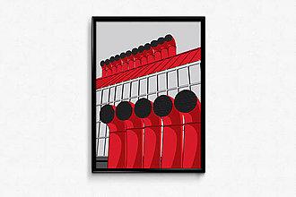 Grafika - Autorská grafika Nová tržnica - 9456474_