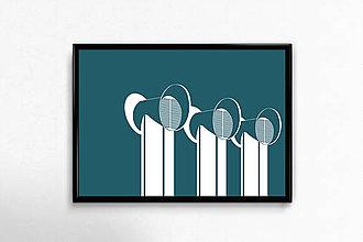 Grafika - Autorská grafika Kamenné námestie - 9456510_