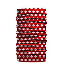 Šatky - Bodky červená - 9458823_