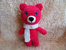 Hračky - Modrooká medvedica Zlatka :-) - 9455748_
