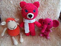 Hračky - Modrooká medvedica Zlatka :-) - 9455755_
