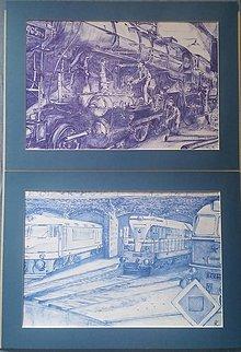 Grafika - Generálna oprava starého vlaku - 9456312_