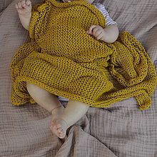 Textil - Detská dečka...kari - 9458363_
