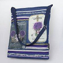 Veľké tašky - kabelka levandulová - 9458322_