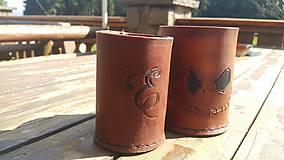 Nádoby - Kožený pohár - 9456313_