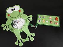 Detské doplnky - Spy bag žabka (Spy bag žabka -gulky) - 9460508_