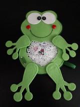 Detské doplnky - Spy bag žabka (Spy bag žabka -gulky) - 9460550_