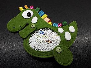 Detské doplnky - Spy bag Dino (Spy bag Dino /stužkový) - 9460766_