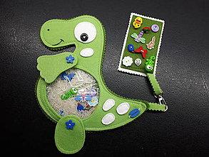 Detské doplnky - Spy bag Dino (Spy bag Dino/bez stužiek) - 9460815_