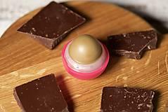 Drogéria - med a čokoláda - balzam na pery s panenským včelím voskom - 9461531_
