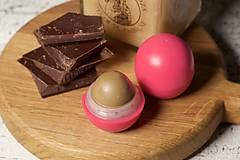 Drogéria - med a čokoláda - balzam na pery s panenským včelím voskom - 9461534_