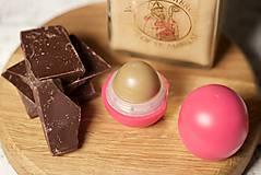 Drogéria - med a čokoláda - balzam na pery s panenským včelím voskom - 9461535_