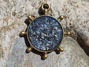 Šperky - spomienky na leto...námornícke kormidlo - 9461621_