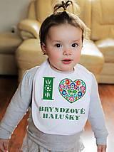 Detské doplnky - Podbradník - folk  I LOVE Slovensko - 9462160_