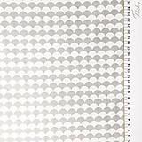 Textil - sivé vlnky; 100 % bavlna Francúzsko, šírka 160 cm, cena za 0,5 m - 9459670_