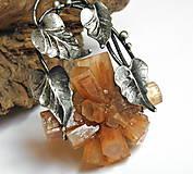 - cínový šperk s minerálom - Čarodejka príroda - 9460459_